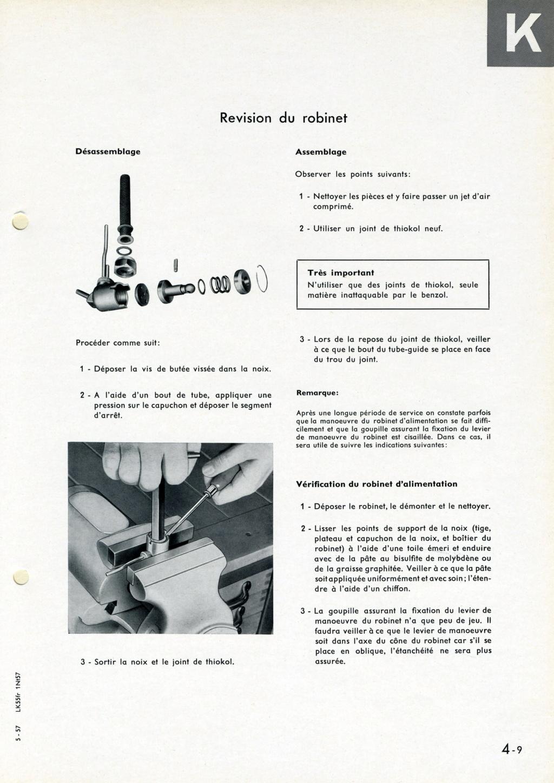 Mise en place d'un robinet de réserve d'essence Page_415