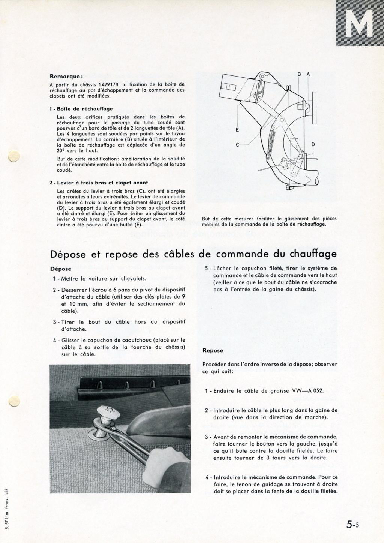 Câbles de commande boîtes de chauffage Page_510
