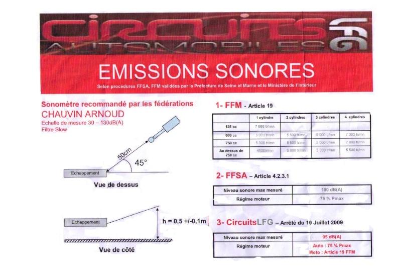 niveau sonore et controle Sonome11