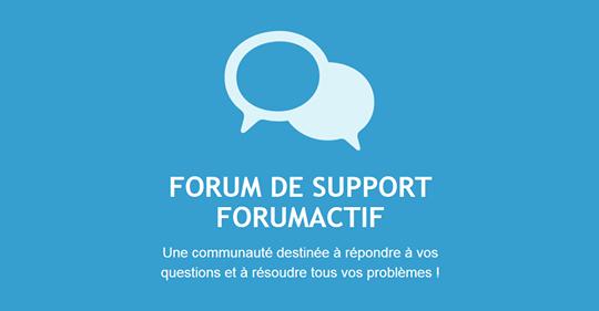utterly stylish check out 100% authentic Forum gratuit Forumactif: Le forum des forums actifs
