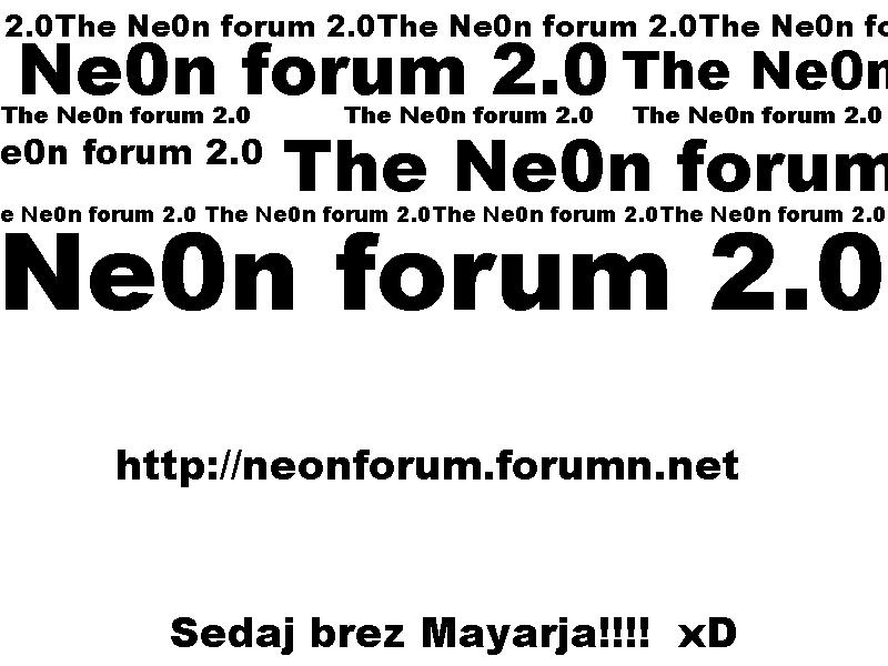 Ne0n Forum
