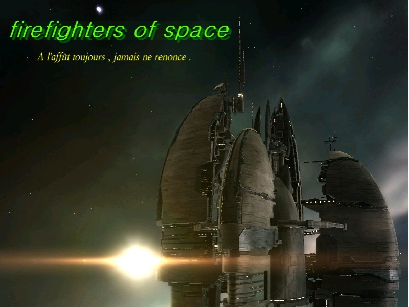 firefighters of space