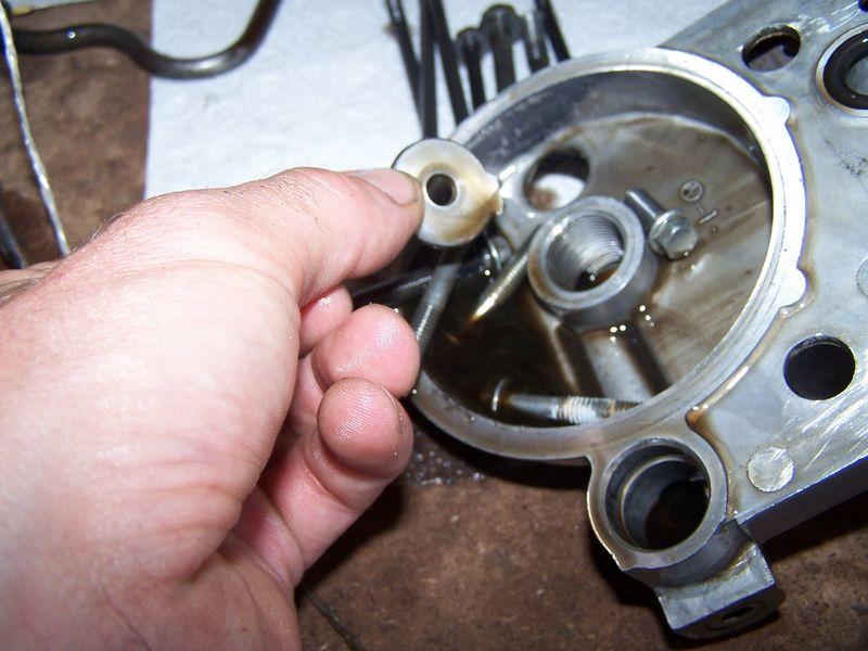 Ninja : changement roue libre Pompe11