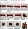 Вышивка  лентами (краткое руководство) 01710