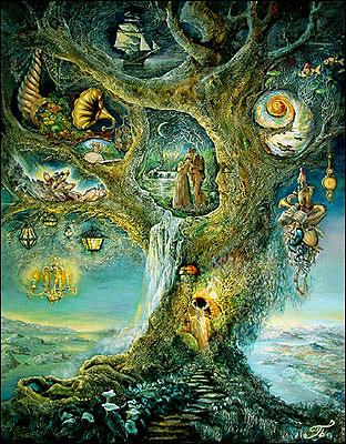 Творчество современных художников. Treeof10