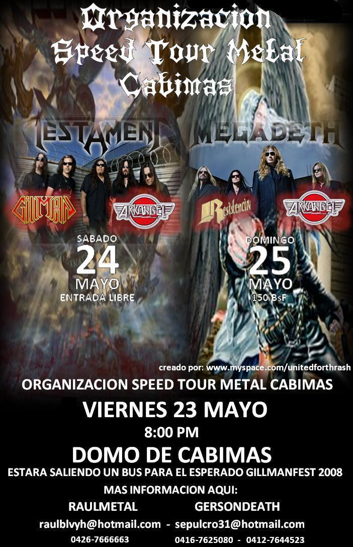 Speed tour Metal para el GilmanFest Flyer_10