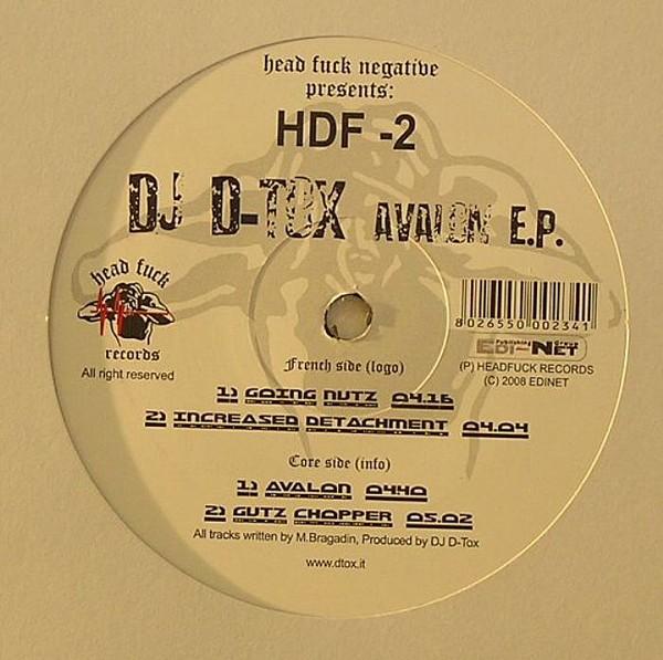 [HDF-2] DJ D-Tox - Avalon E.P. [2008] Vinyl_10