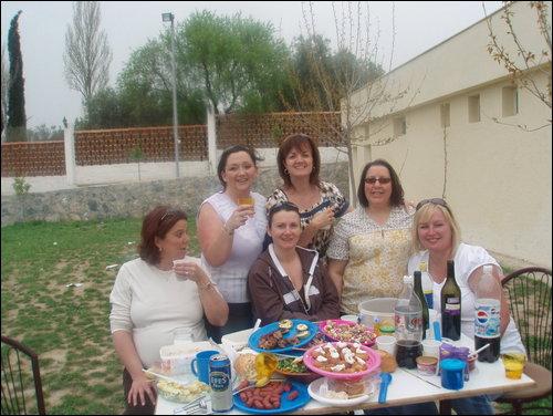 the kusadasi girls on Easter Sunday for BBQ Easter10