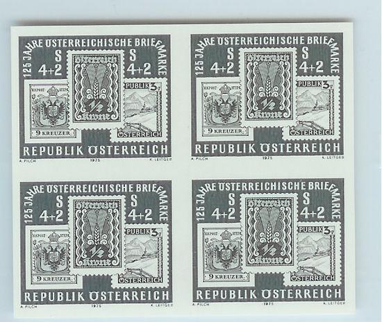 Österreich - Specimen, Schwarzdrucke, Buntdrucke 125jos10