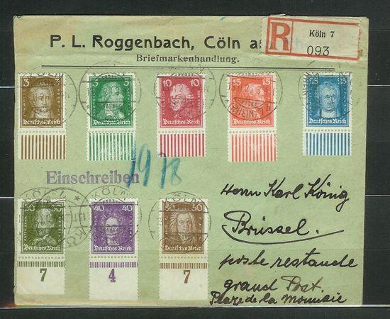 Platten und Walzendrucke der Weimarer Republik Brdsat11