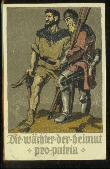 schweiz - Bundesfeierkarten Chganz11