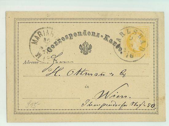 Postkarten -  allgemein bis 1938 Corkar10