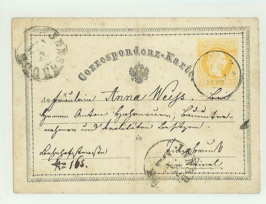 Postkarten -  allgemein bis 1938 Corkar12