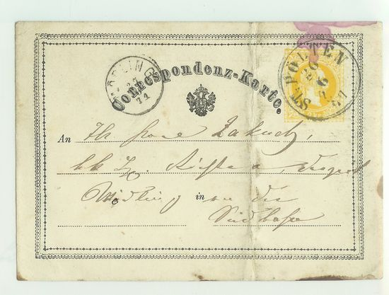 Postkarten -  allgemein bis 1938 Corkar13