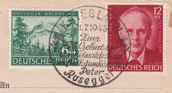 Belege / Sonderstempel Deutsches Reich 1943 Drsost12