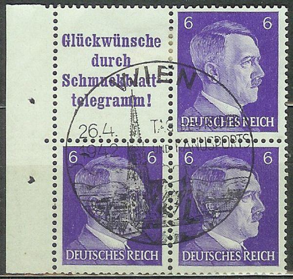 Deutsches Reich Zusammendrucke und Markenheftchen Drstem10