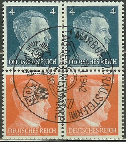 Deutsches Reich Zusammendrucke und Markenheftchen Drstem11