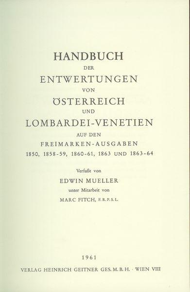 Stempel Handbücher von Herrn Ing. Edwin Müller Maller10