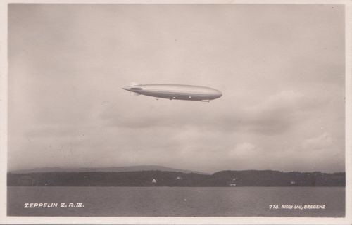Ansichtskarten der Luftschiffe Zeppel10