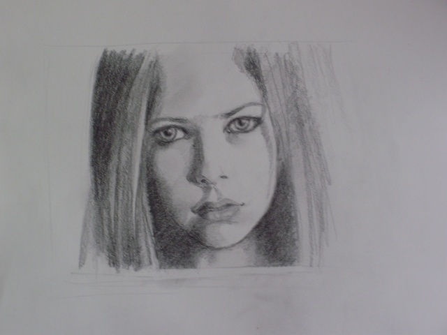 Portrait Avril Lavigne [Mine de plomb] P5150010
