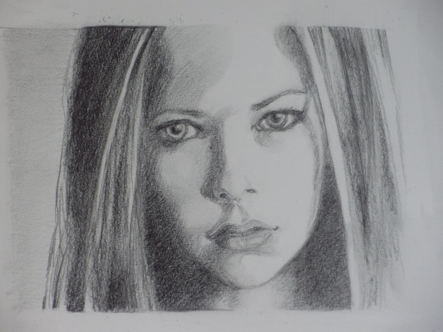 Portrait Avril Lavigne [Mine de plomb] P5170110