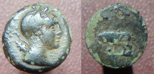Petit bronze à Artemis. Grec ? Provincial ? Artemi10