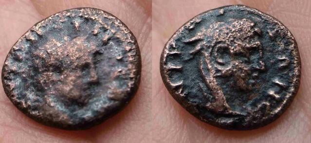 Bronze provincial ? Junon Lanuvia ? [résolu Caracalla Nicée] Junon10