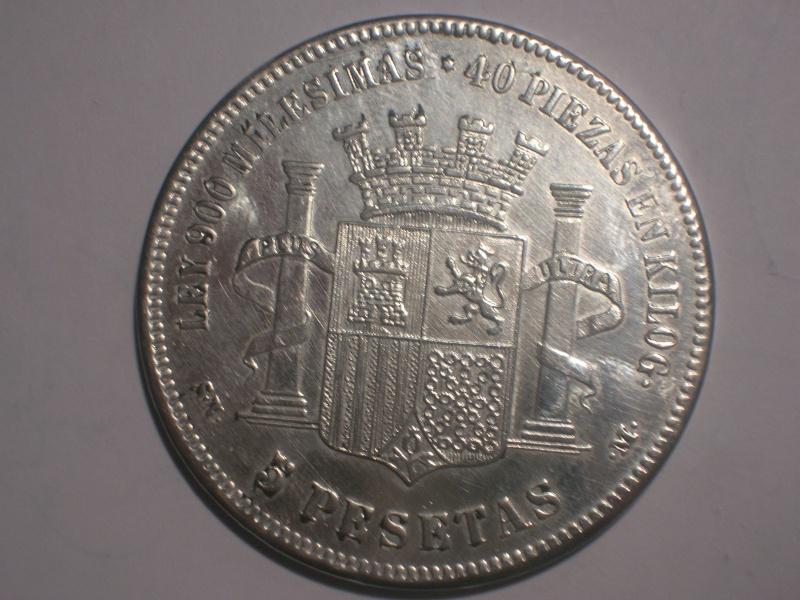 5 Pts. del G. Prov. (Madrid, 1869 d.C) ¿Falsa? Dscn2416