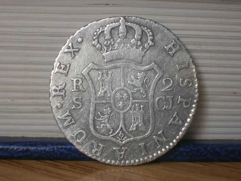2 Reales de Fernando VII (Sevilla, 1820 d.C) Dscn2423