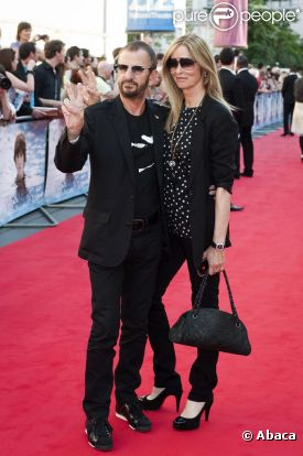 Ringo & Barbara : première de Living in the material world 71068510