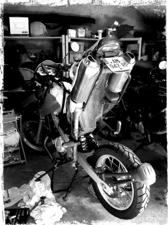 Démonter amortisseur F650 GS version Mono Bm10