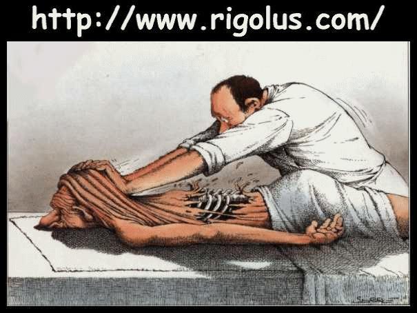 La technique du massage musclé Massag10