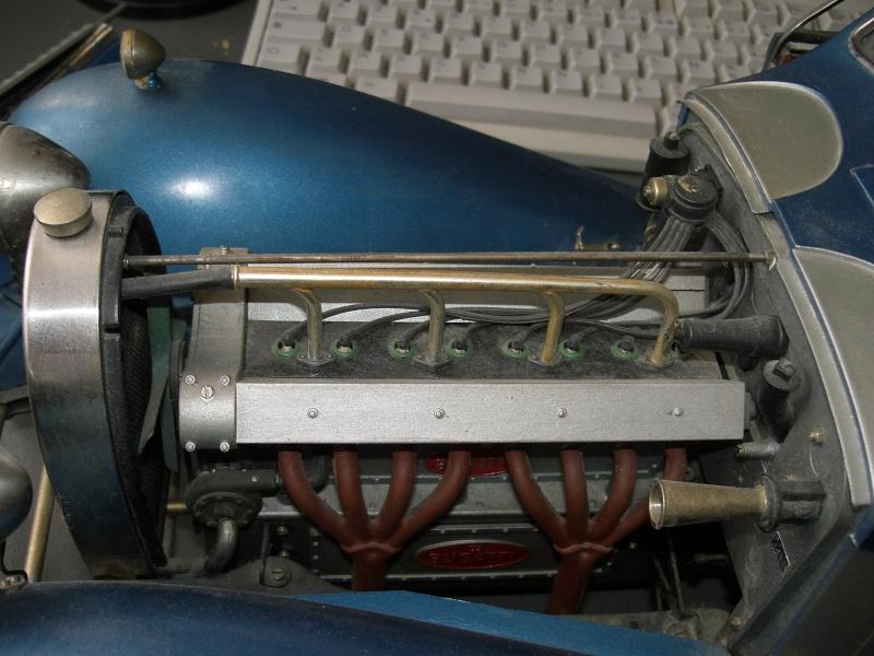 La BUGATTI 1933 50T Moteur10