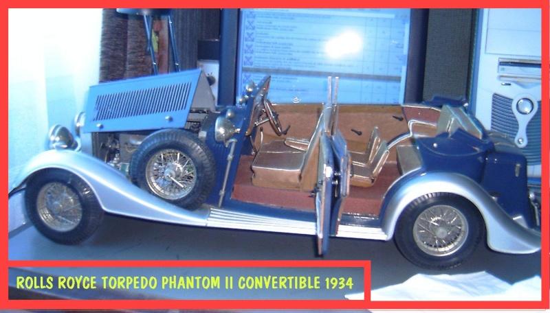 ROLLS-ROYCE TORPEDO PHANTOM II CONVERTIBLE 1934 Rolls-11