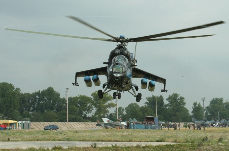 Elicoptere civile, militare, utilitare - 2008 Mi-24_10