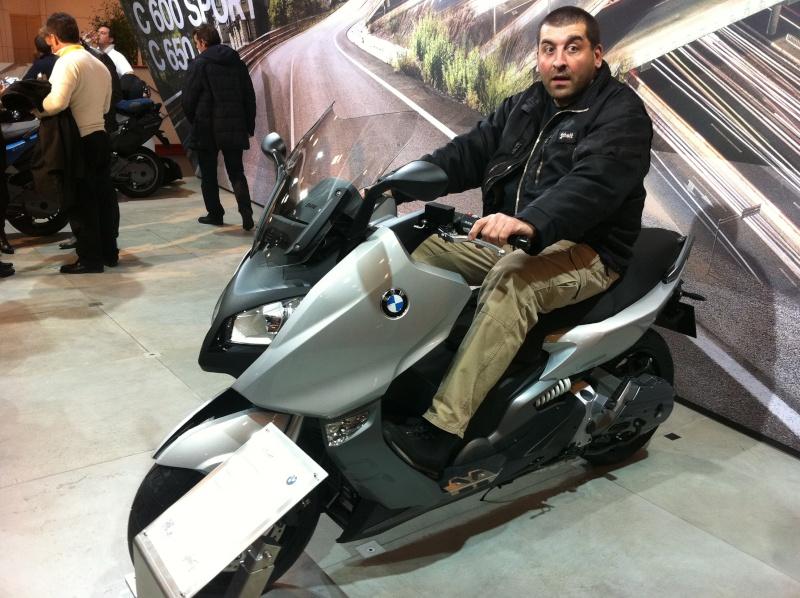 1m88 et 120 kilos sur un BMW C600 et sur Un tmax 530 Photo_20