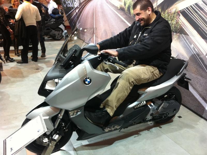 1m88 et 120 kilos sur un BMW C600 et sur Un tmax 530 Photo_21