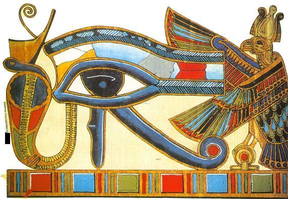 oudjat - L'oeil d'Horus ou oeil Oudjat Oeil_h10
