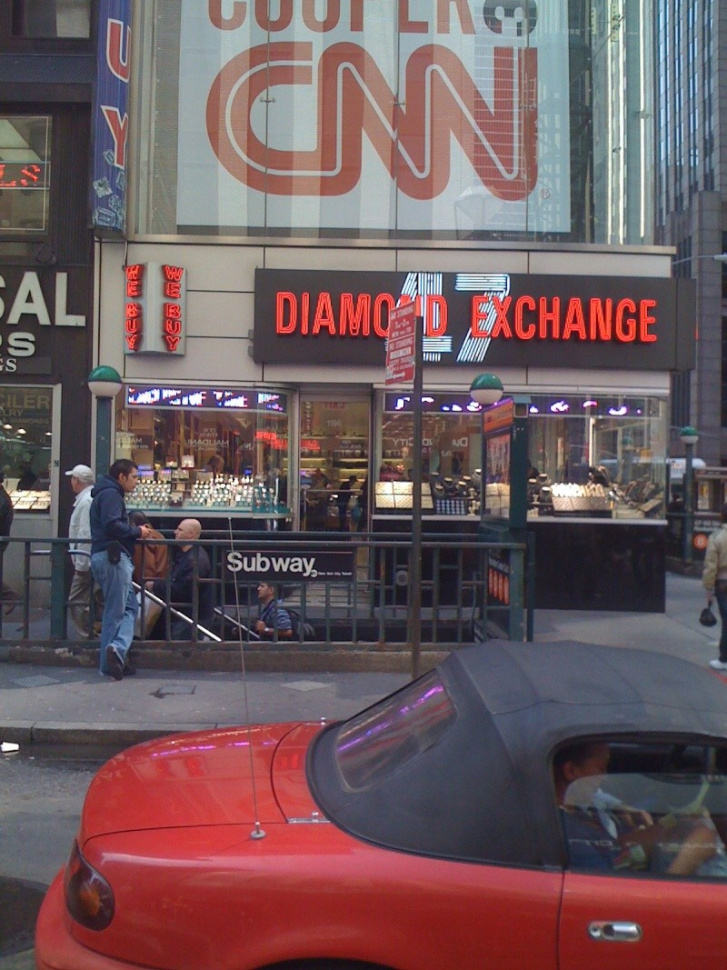 new york - Reportage Montre New York Diamon12