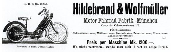 La madre de todas: Hildebrand & Wolfmüller Hildeb10