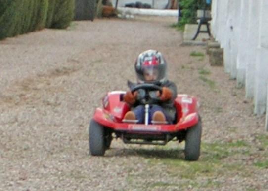 Kart MTK con motor Ducati 48 Kart10