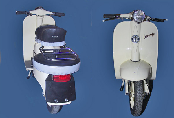 La Montesa MicroScooter de D. Antonio Micros16
