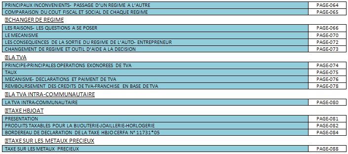 DOCUMENT SUR LE STATUT JURIDIQUE,REGIME SOCIAL ET FISCALITE DE L'ENTREPRENEUR INDIVIDUEL EN BIJOUTERIE-JOAILLERIE 511