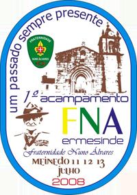 1º Acampamento – Fraternidade de Nuno Álvares – Núcleo de Ermesinde Emblem10