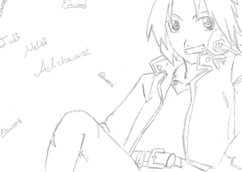 Mis dibujos... Aunque solo el Shaoran es de Clamp!! Edfma10