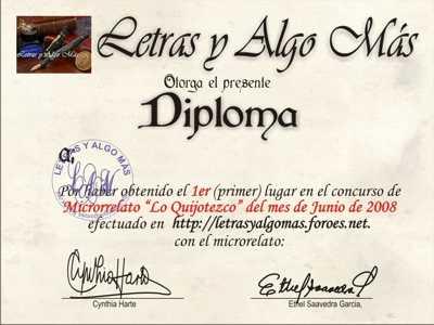 Resultado del Primer Concurso Flash de Microrrelato moderadora Mariazul11) Diplom11
