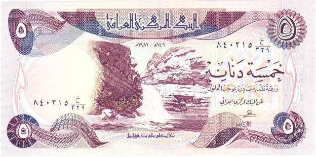 Billets d'Irak 311