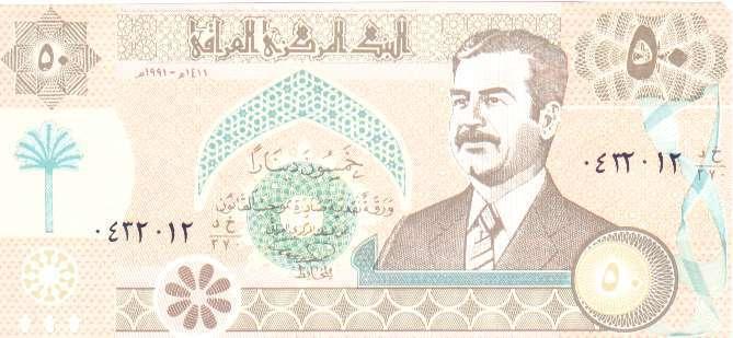 Billets d'Irak 610