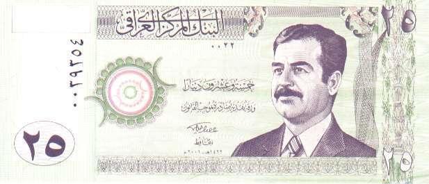 Billets d'Irak 710