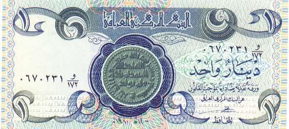Billets d'Irak 810